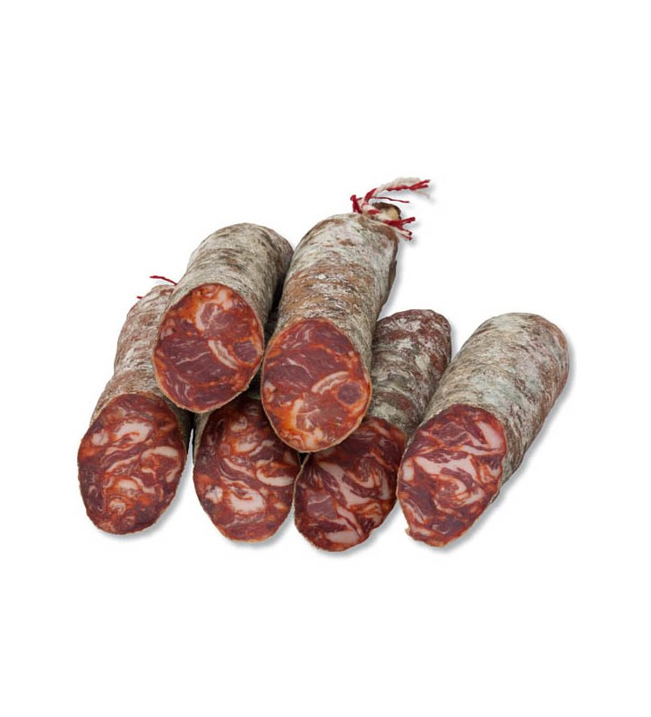 Comprar chorizo ibérico de bellota cular pieza de embutido ibérico de Bellota