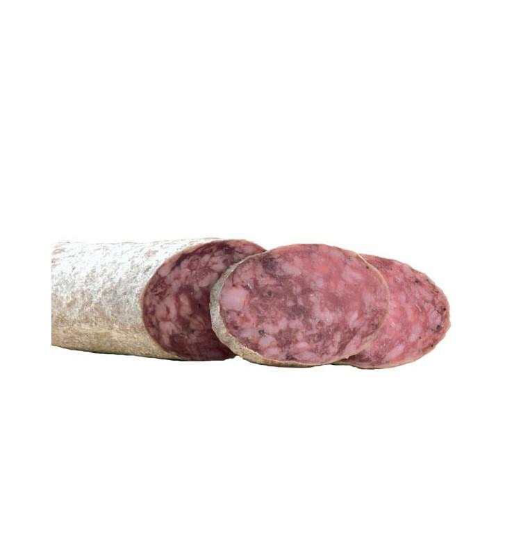 Salchichón de bellota cular pieza de embutido ibérico de Bellota