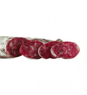 Longaniza de salchichón de cerdo ibérico. Jamones y embutidos ibéricos de Salamanca