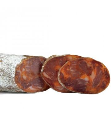 Comprar Chorizo Vela extra de cerdo ibérico al mejor precio incluido con el salchichón Vela extra